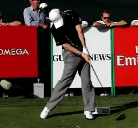 Great golfers spin their hips fast through impact…Uhhh, NO THEY DON