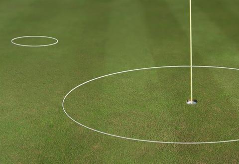 golf chipping ring