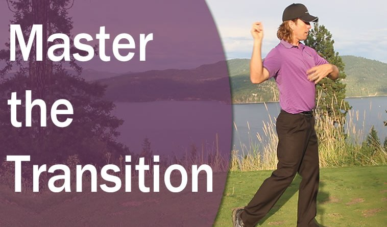 golf downswing transition