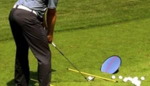 golf practice mirro