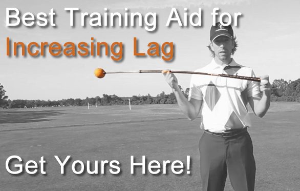 golf swing lag training aid