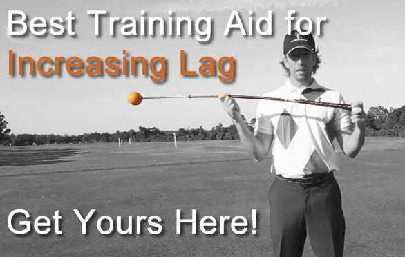 golf swing lag training aid