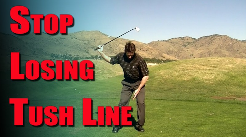 stop losing tush line golf