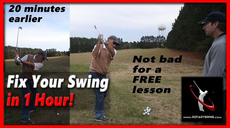 fix golf backswing