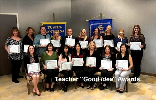 Teach Goo Idea Award Recipents 2018