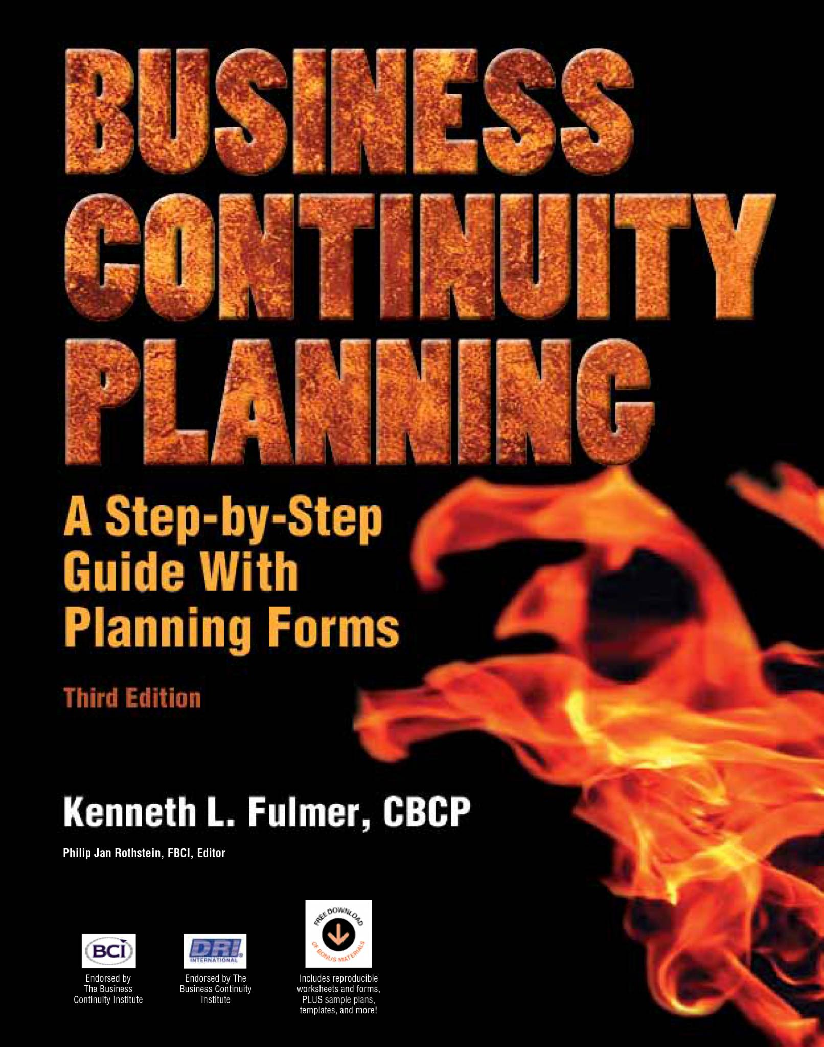Business continuity planning a step by step guide with business continuity planning a step by step guide with downloadable planning forms xflitez Choice Image