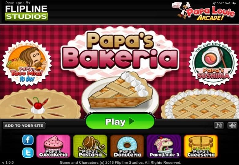 Dica de Jogo - Papa's Bakeria