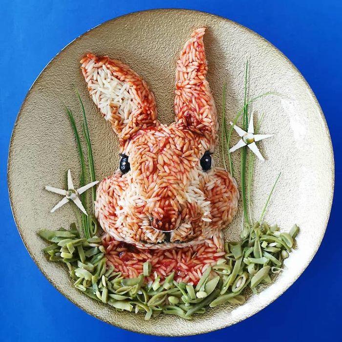 Arte comestível inspirada em animais