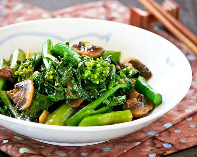 How to eat food in China - Vegetables
