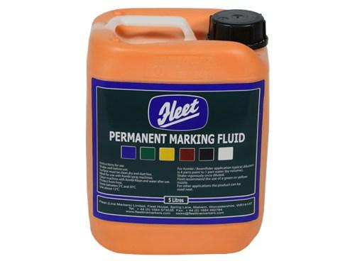 Fleet Permanent Marking Fluid Orange