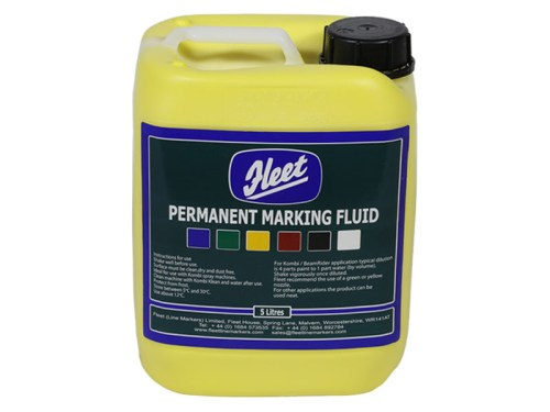 Fleet Permanent Marking Fluid Yellow