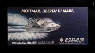 Campagna istituzionale Cantiere - Rimessaggio grandi imbarcazioni Motemar - Campagna Affissione, stampa quotidiana, periodica, di settore, promotional fiere
