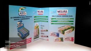 Campagna Misura General De Confiterie - Prodotto Caramelle Club - Afissione, tv. radio, promotional e dispencer