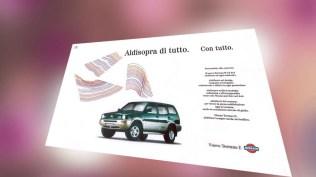Campagna istituzionale prodotto Fuoristrada - Stmpa Promotional - Allestimenti Pdv