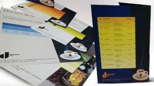 Restayling immagine coordinata e Realizzazione promotional e materiale per il trade Danesi Caffè