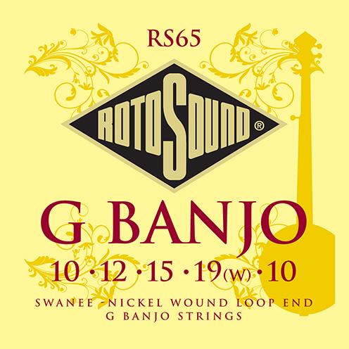 rs65 Swanee G banjo nickel wound strings