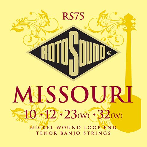 rs75 Missouri Tenor banjo nickel wound strings