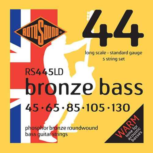 rs445ld Rotosound Bronze Bass phosphor acoustic strings stings srings base gitar giutar standard regular long scale best tone