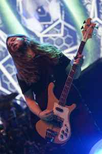Haz Wheaton of Hawkwind using Rotosound strings. Photo credit Pathy by A. Moell