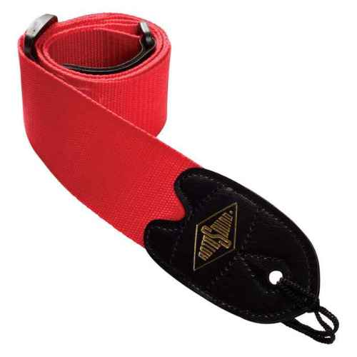 Rotosound STR2 webbing guitar strap red