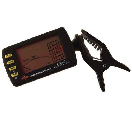 Rotosound ATC-10 clip on chromatic tuner and chord finder