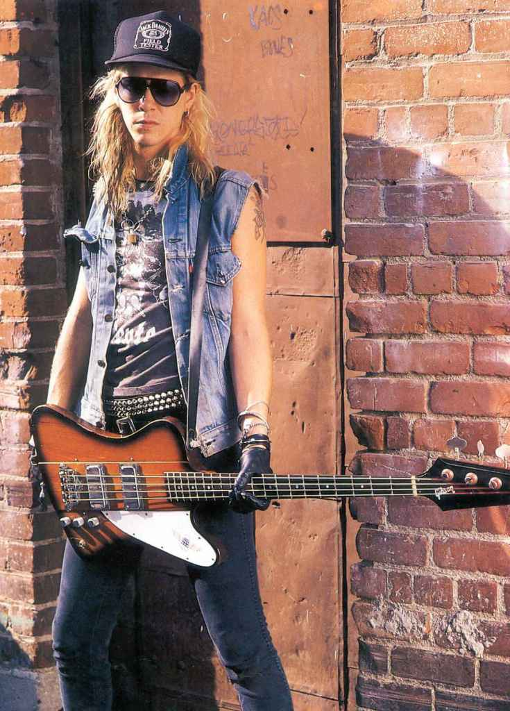 Duff McKagen Guns N Roses Rotosound bass player Swing Bass 66