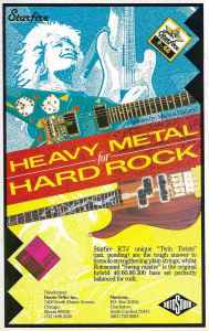 Heavy Metal for Hard Rock Rotosound advert 1988