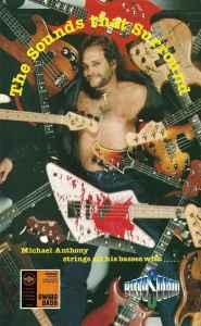 Michael Anthony Van Halen guitar strings rotosound advert