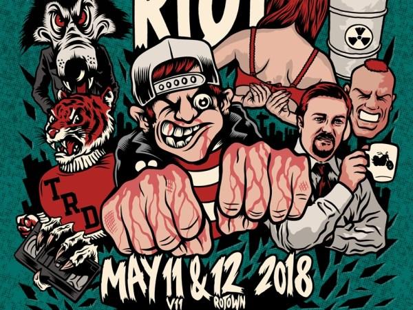 Rotterdam Riot - 11 & 12 mei 2018 - V11 & Rotown, Rotterdam
