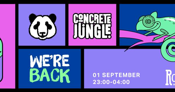Concrete Jungle - 1 september 2018 - Rotown, Rotterdam