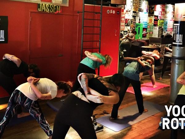 Yoga in Rotown - 3 maart 2019 - Rotown, Rotterdam