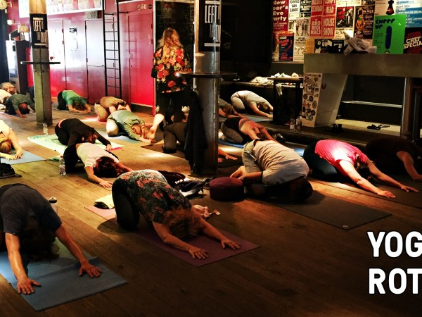 Yoga in Rotown - 7 april 2019 - Rotown, Rotterdam
