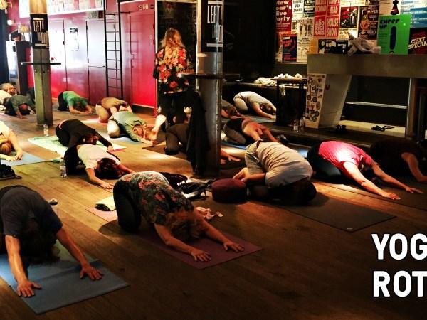 Yoga in Rotown - 6 oktober 2019 - Rotown, Rotterdam