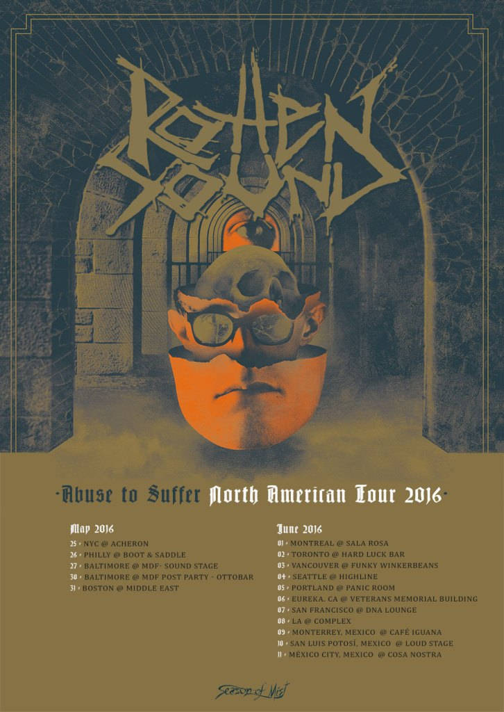 Abuse to Suffer North American Tour 2016