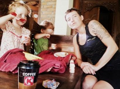 Mittagessen in Kuta