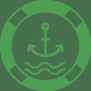 rotterband logo licht groen