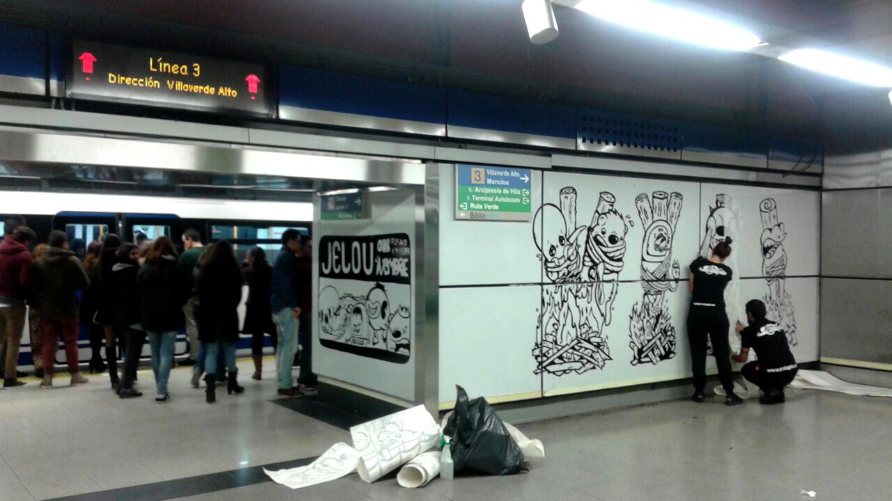 Instalación Metro Moncloa