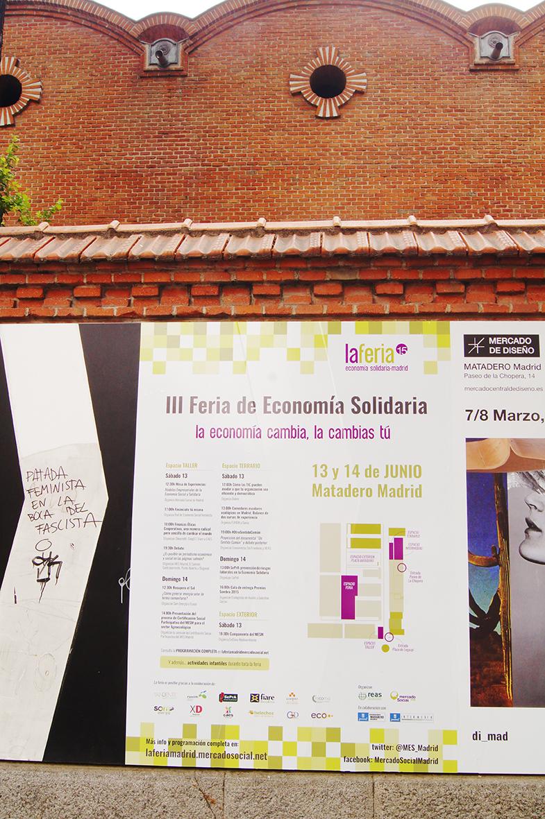 Vinilos Feria Economía Solidaria