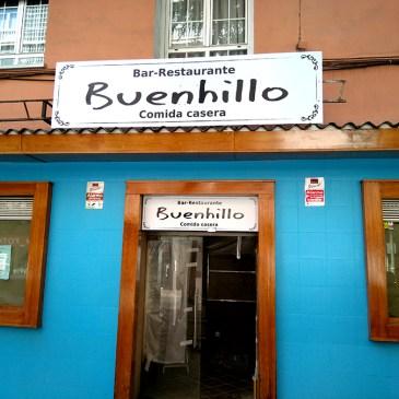 Diseño y rotulación Bar Restaurante Buenhillo