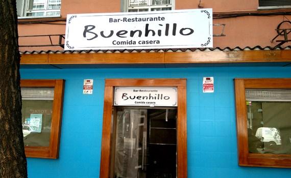 diseño y rotulación restaurante buenhillo
