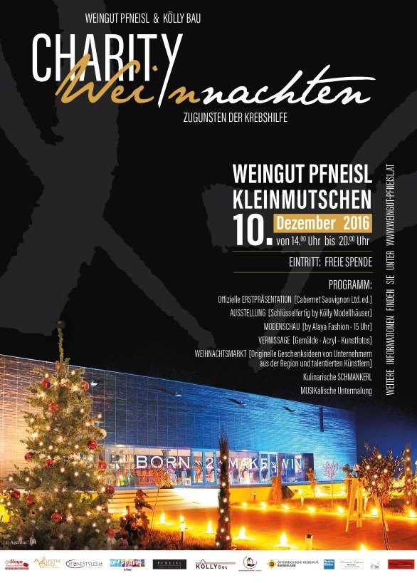 Charity Weinnacht Event - Weingut Pfneisl, Kleinmutschen