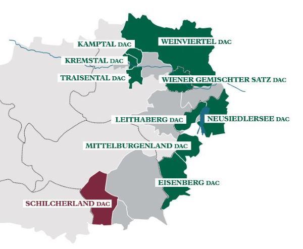 DAC Weinbaugebiet: Schilcherland DAC