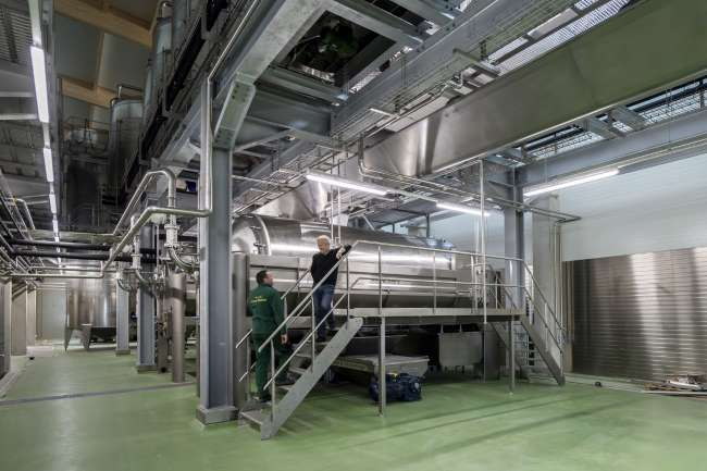 Lenz Moser-neues Presshaus