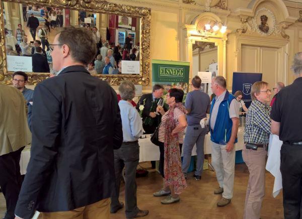 Linzer Weinfrühling 2018 - hervorragende Weine