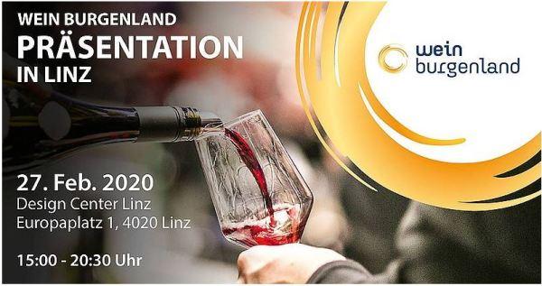 Wein Burgenland Präsentation Linz