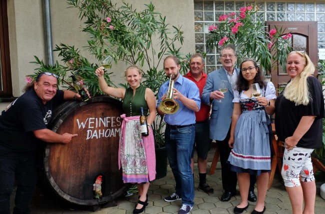 Weinfest dahoam