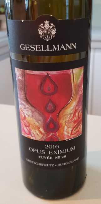 Weingut Gesellmann - Opus Eximium 2016
