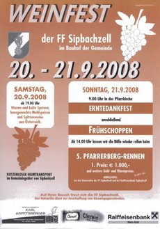 weinfest sipbachzell