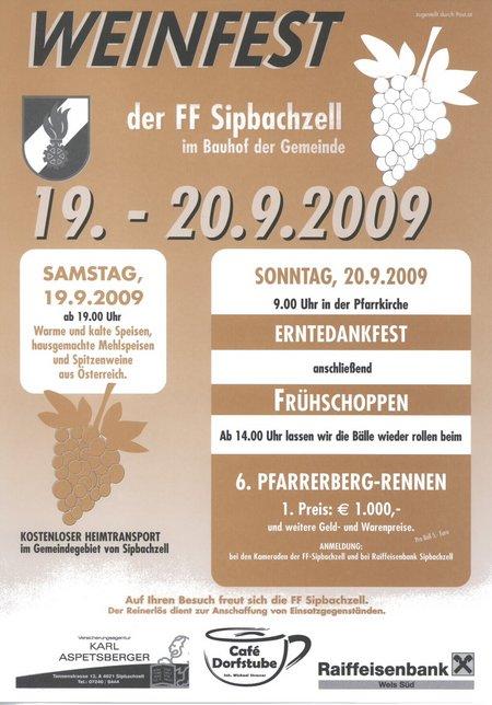 weinfest sipbachzell 2009