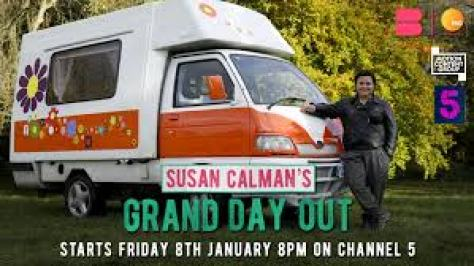 """Susan Calman on Twitter: """"Delighted to announce a new series for  @channel5_tv! Me & my trusty campervan have more than one Grand Day Out in  Devon & Cornwall, the Cotswolds, Yorkshire &"""